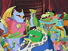 Blazing dragons wikipedia knights of the square table clockwise from upper left sir galahot sir loungelot sir burnevere sir blaze king allfire sir hotbreath watchthetrailerfo