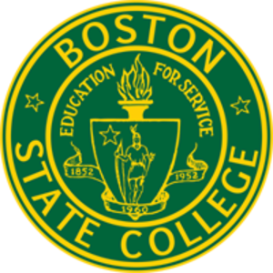 Boston State College - Image: Boston college logo