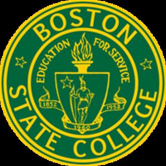 Boston State College - Image: Boston college logo