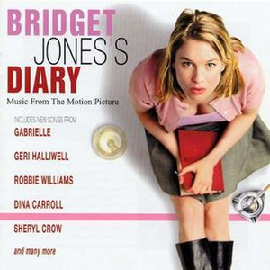 Bridget Jones's Diary (film) - Image: Bridget Jones's Diary OST UK Cover