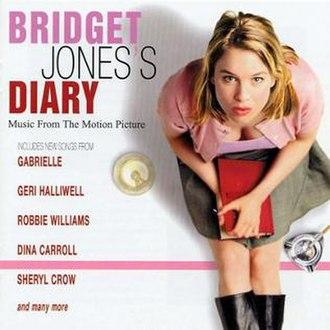 Bridget Jones's Diary (film) - Image: Bridget Jones's Diary OST UK Cover