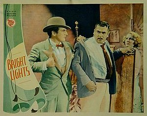 Bright Lights (1930 film) - Theatrical release poster
