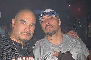 Deadlee - Manager Camilo Arenivar (left) and Deadlee (right) in 2007.