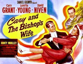 """The Bishop's Wife - In some US markets, the film was retitled """"Cary and the Bishop's Wife"""""""