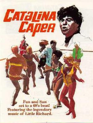 Catalina Caper - Theatrical poster