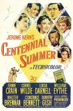 Centennial Summer - Image: Centennial Summer Film Poster