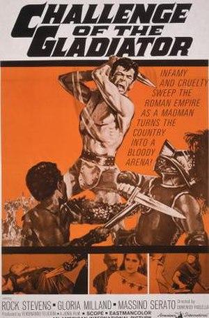 Challenge of the Gladiator - Image: Challenge of the Gladiator