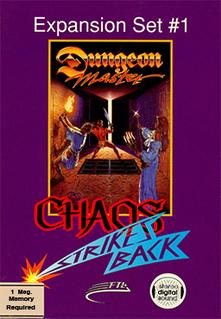 <i>Chaos Strikes Back</i> 1989 video game