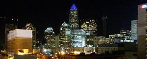 Charlotte, NC Skyline (11-13-06)