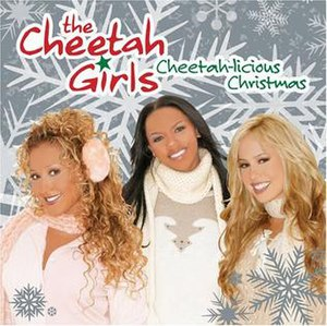 Cheetah-licious Christmas - Image: Cheetah licious Christmas album cover