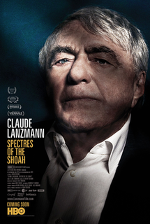 <i>Claude Lanzmann: Spectres of the Shoah</i> 2015 documentary short film by Adam Benzine