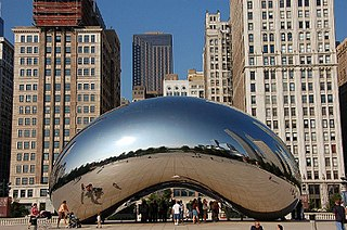 Public sculpture by Sir Anish Kapoor in Chicago, Illinois, United States