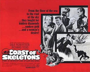 Coast of Skeletons - US poster from 1965