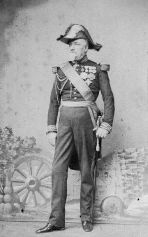 Jacques Camou - Jacques Camou in 1857 as commander of the 2nd infantry division of the Imperial Guard.