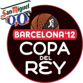 2012 Copa del Rey de Baloncesto - Image: Copa BCN12