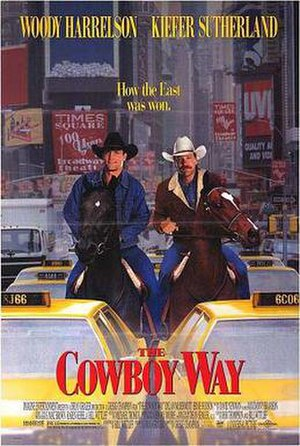 The Cowboy Way (film) - Theatrical release poster