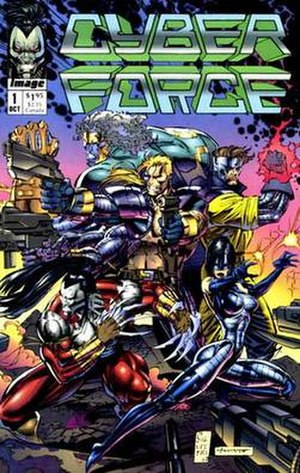 Cyberforce - First issue cover