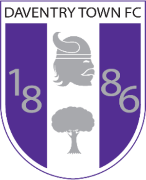 Daventry Town F.C. - Image: Daventry Town FC Badge