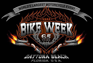 Daytona Beach Bike Week - Image: Daytona bike week 2006 official logo