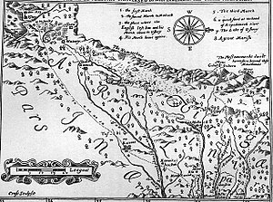 Moneton - 1651, Discovery of New Brittaine map