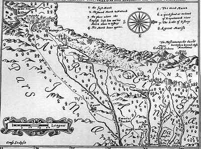 1651, Discovery of New Brittaine map