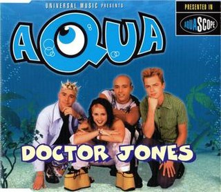 Doctor Jones 1997 single by Aqua