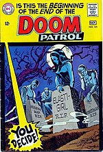 original doom patrol comic book