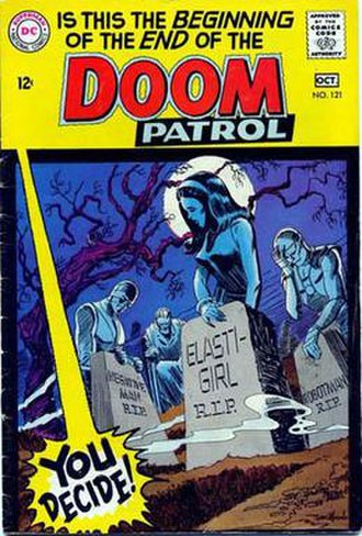 Doom Patrol - Image: Doompatrol 121