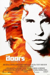 <i>The Doors</i> (film) 1991 biopic film about The Doors directed by Oliver Stone
