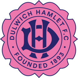 Original Dulwich Hamlet emblem created in 1893, and reintroduced in 2018 to celebrate the 125th anniversary of the club