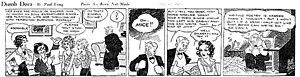 Paul Fung - Paul Fung's Dumb Dora (January 27, 1932)