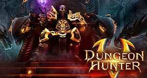 Dungeon Hunter 5 - Image: Dungeon Hunter V official logo by gameloft