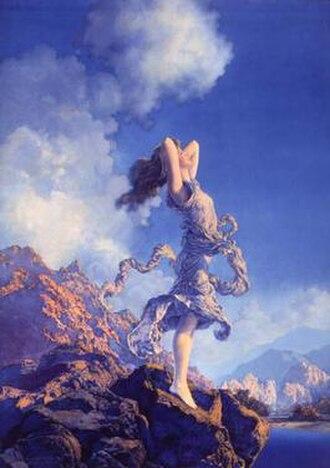 Maxfield Parrish - Image: Ecstasy, 1929