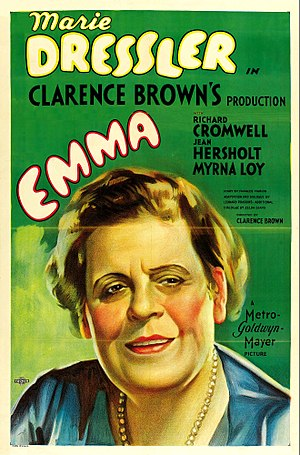 Emma (1932 film) - Theatrical poster