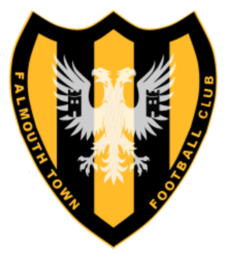 Falmouth Town A.F.C. - Badge of Falmouth Town