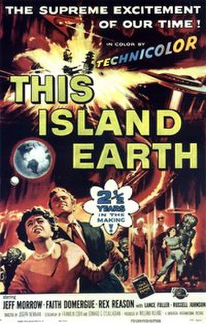 This Island Earth - Theatrical release poster by Reynold Brown