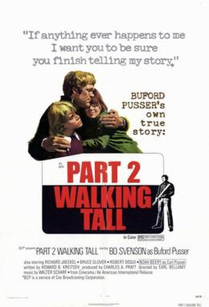 Walking Tall Part 2 - Theatrical release poster