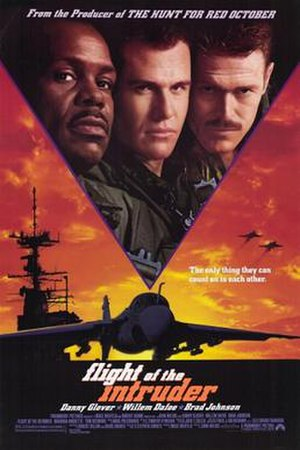 Flight of the Intruder - Theatrical release poster