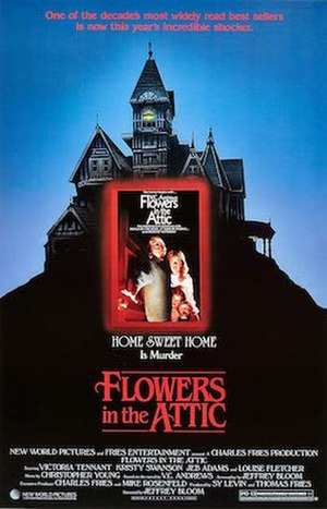 Flowers in the Attic (1987 film) - Theatrical release poster by Tom Jung