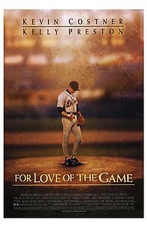 <i>For Love of the Game</i> (film) 1999 film by Sam Raimi