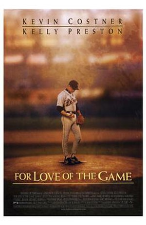 For Love of the Game (film) - Theatrical release poster