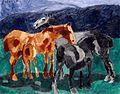 Francis Picabia, 1911, Horses, oil on canvas, 73.3 x 92.5 cm, Musée National d'Art Moderne, Centre Georges Pompidou, Paris.jpg