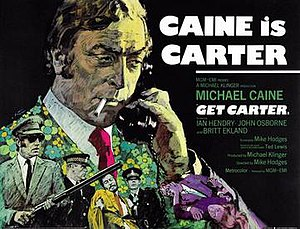 Get Carter - Original UK film poster by Arnaldo Putzu