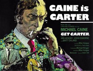 <i>Get Carter</i> 1971 Mike Hodges film starring Michael Caine