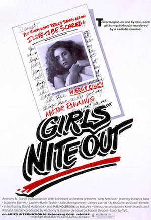 Girls Nite Out - Image: Girls Nite Out Film Poster