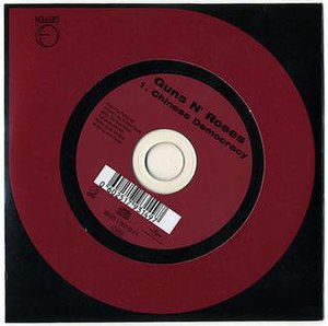 Chinese Democracy (song) - Image: Gn R CD single