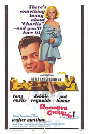 Goodbye Charlie - Theatrical release poster