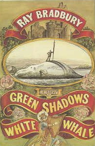 Green Shadows, White Whale - Dust-jacket from the first edition
