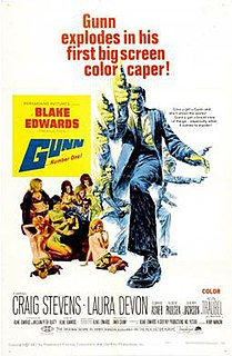 <i>Gunn</i> (film) 1967 film by Blake Edwards
