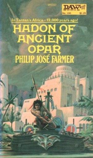 Hadon of Ancient Opar - Cover illustration of Hadon of Ancient Opar